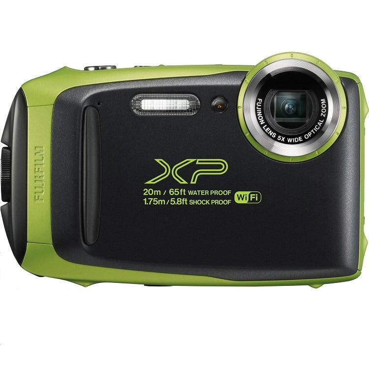 Câmera Digital Fujifilm Finepix XP130 À Prova D'água Black Green