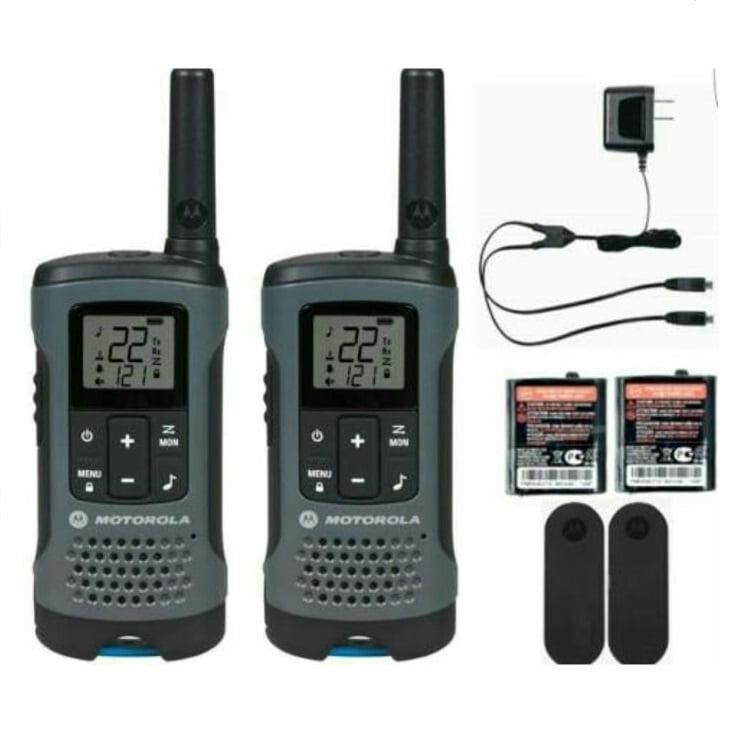 Rádio Comunicador Motorola Talkabout T200MC Grey