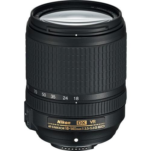 Lente Nikon AF-S 18-140 mm f/3.5-5.6G ED VR