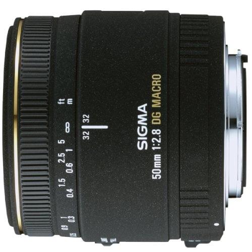 Lente Sigma 50 mm F2.8 DG Macro p/ Nikon