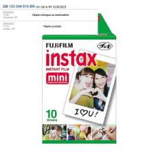 Filme Fujifilm Instax Mini c/ 10 Fotos