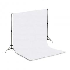 Suporte Fundo Fotográfico Projeart 2,20 x 1,50 metros Branco