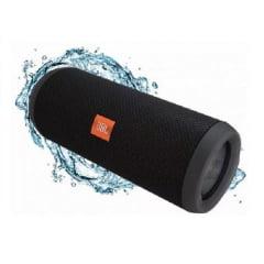 Caixa de Som Bluetooth JBL Flip 4 Portátil Black