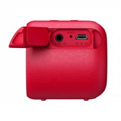 Caixa de Som Sony Extra Bass SRS-XB01 Portátil Vermelho