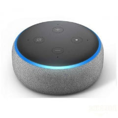Smart Speaker Amazon Echo Dot 3ª Geração Silver