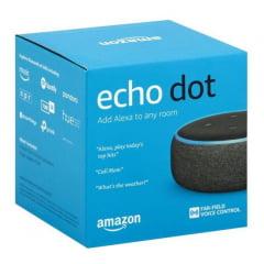 Smart Speaker Amazon Echo Dot 3ª Geração Silver