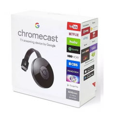 Google Chromecast 2 TV Streaming Black