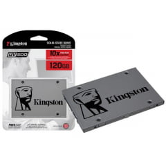 HD SSD Kingston 120GB 6GB/s A400 Interno