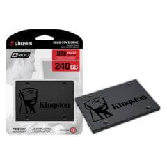 HD SSD Kingston 240GB 6GB A400 Interno