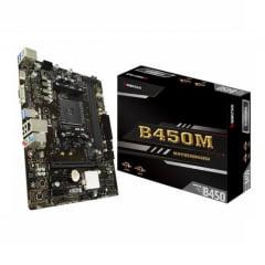 Placa Mãe Biostar B450M AMD AM4