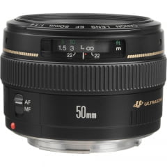 Lente Canon EF 50 mm f/1.4 USM