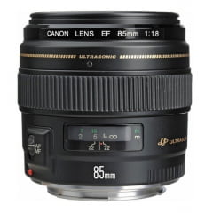 Lente Canon EF 85 mm F/1.8 USM