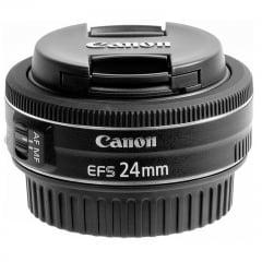 Lente Canon EFS 24 mm F/2.8 STM