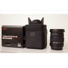 Lente Sigma 17-50 mm F2.8 EX DC OS p/ Nikon