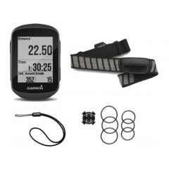 GPS Garmin EDGE 130 Plus + HRM Dual p/ Ciclismo