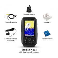 Sonar GPS Garmin Striker Plus 4 + Transducer